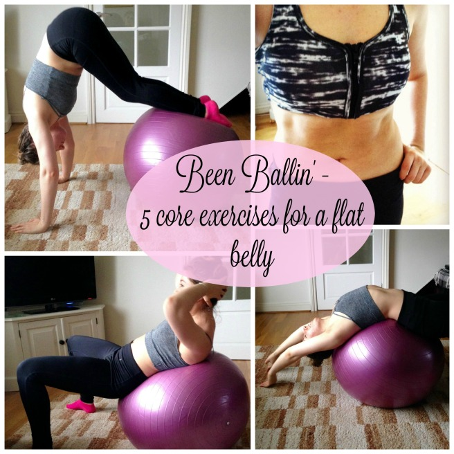 fitness routine for flat belly