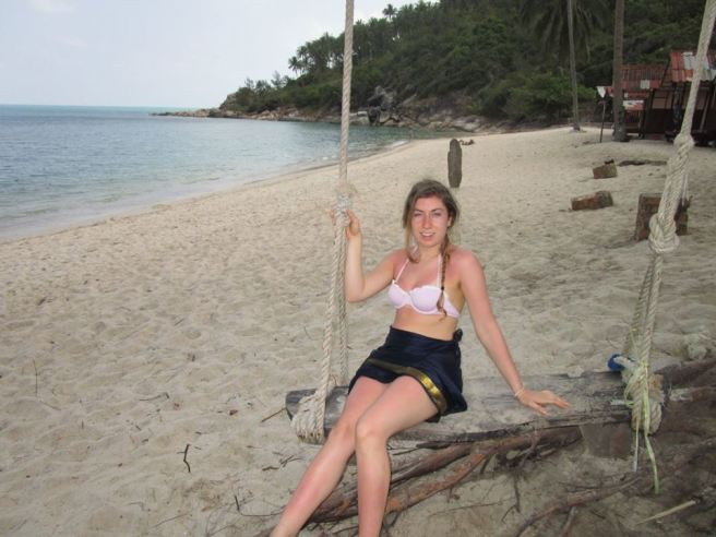 beach swing thailand