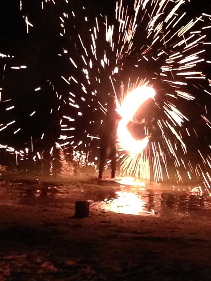 fire show thailand