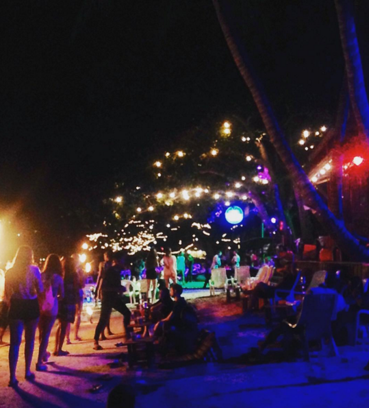 koh tao beach party