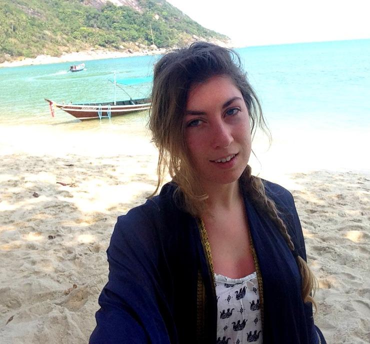Bottle Beach Selfie