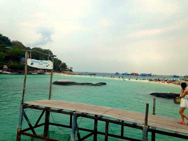 koh nangyuan dock