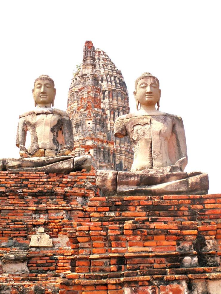 Ayutthaya buddhas