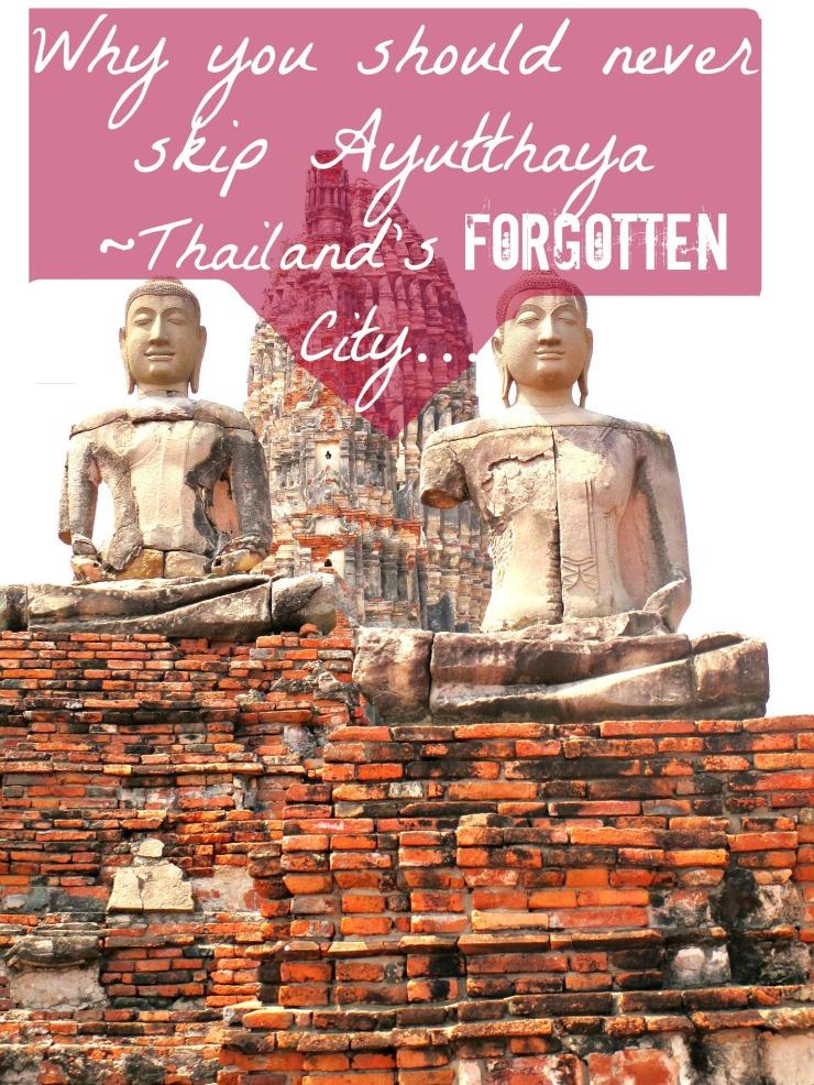 Ayutthaya ostbuddhas