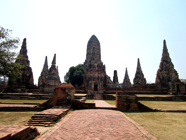Ayutthaya Ruin Landscape2