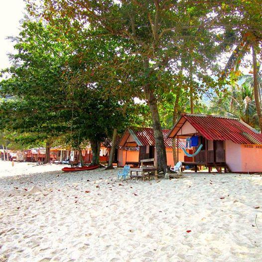Koh Phangan Thailand beach bungalow
