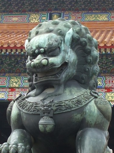 china lion